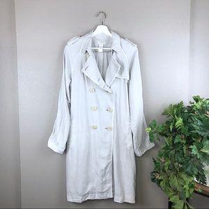 Sundance Hepburn Tencel Double Breast Trench Coat